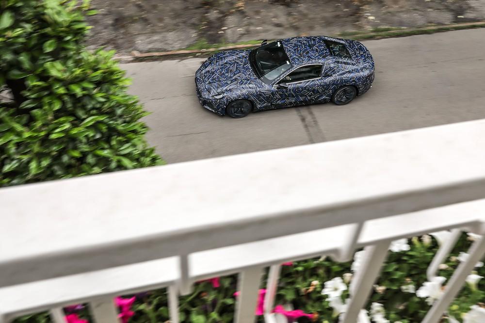 New Maserati GranTurismo overhead teaser shot