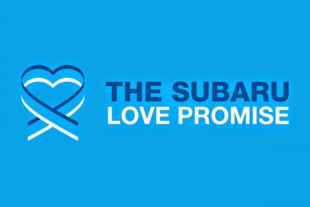 Subaru Love Promise logo