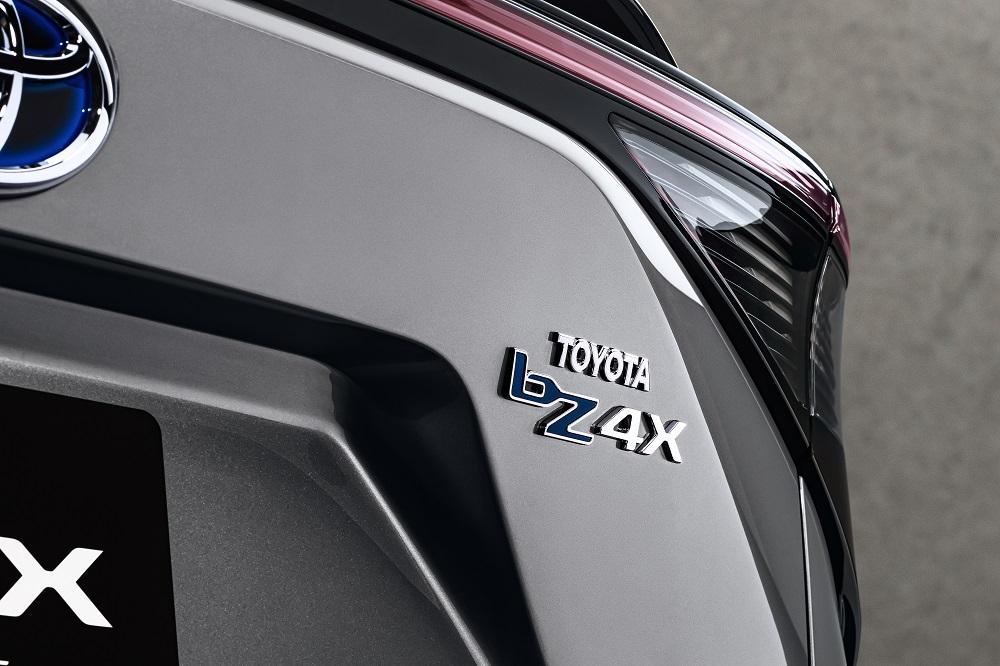Toyota b74X Concept nameplate
