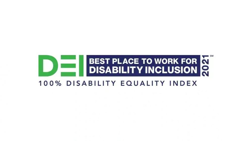 2021 Disability Equality Index Best Place to Work for Disability Inclusion logo