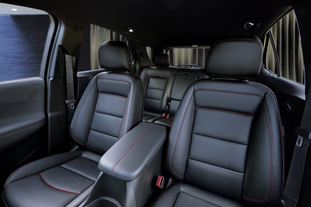 Sièges avant Chevrolet Equinox RS 2022