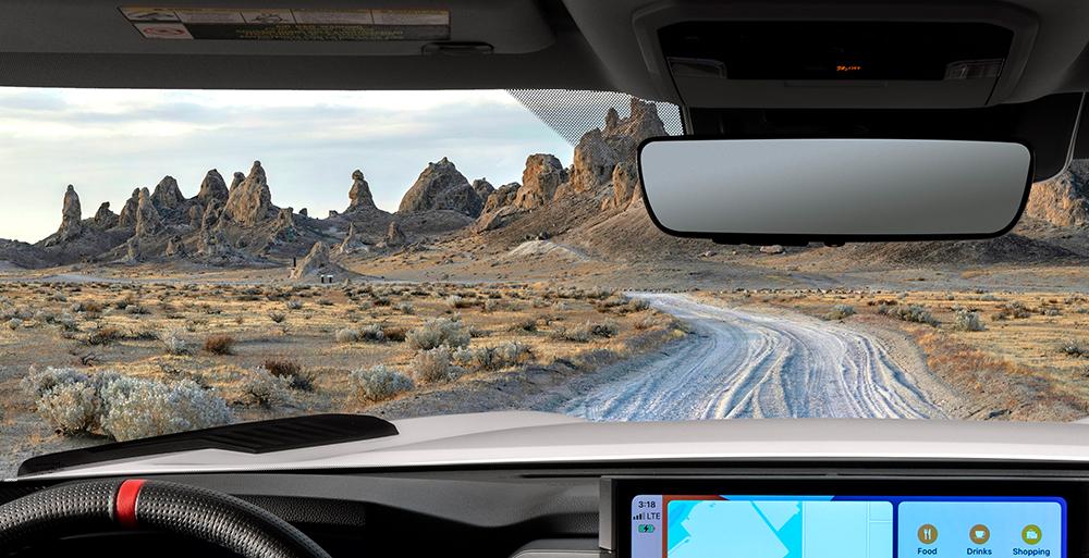 2022 Toyota Tundra (mirror teaser)