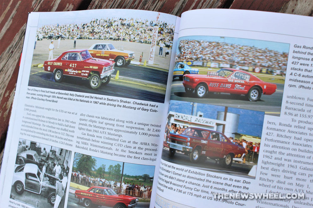 Drag Racing in the 1960s by Doug Boyce book color archive photographs on page
