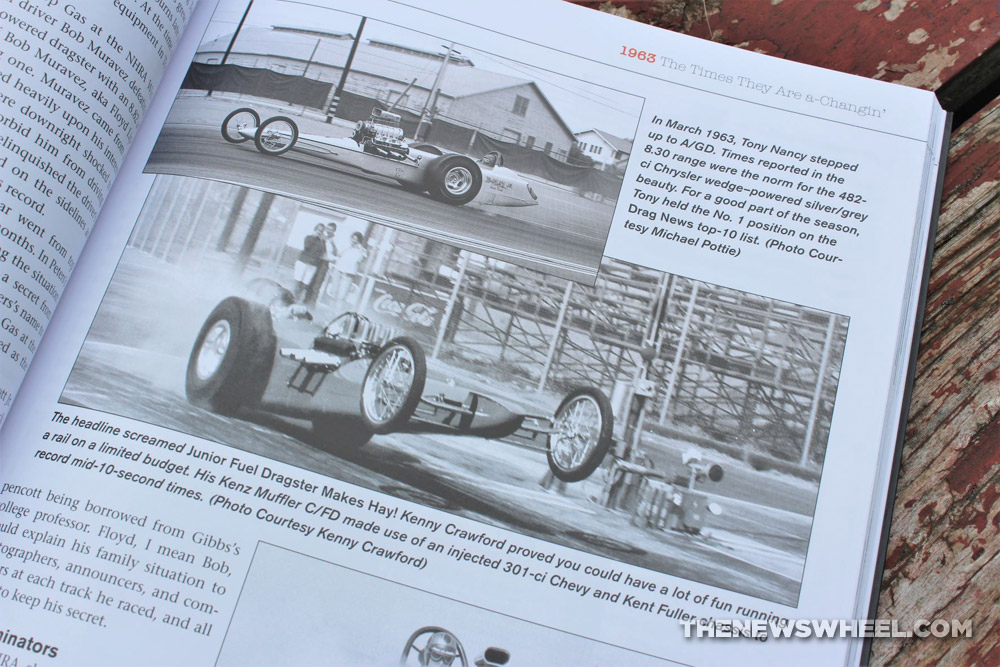 Drag Racing in the 1960s by Doug Boyce book review hot rod photograph racing
