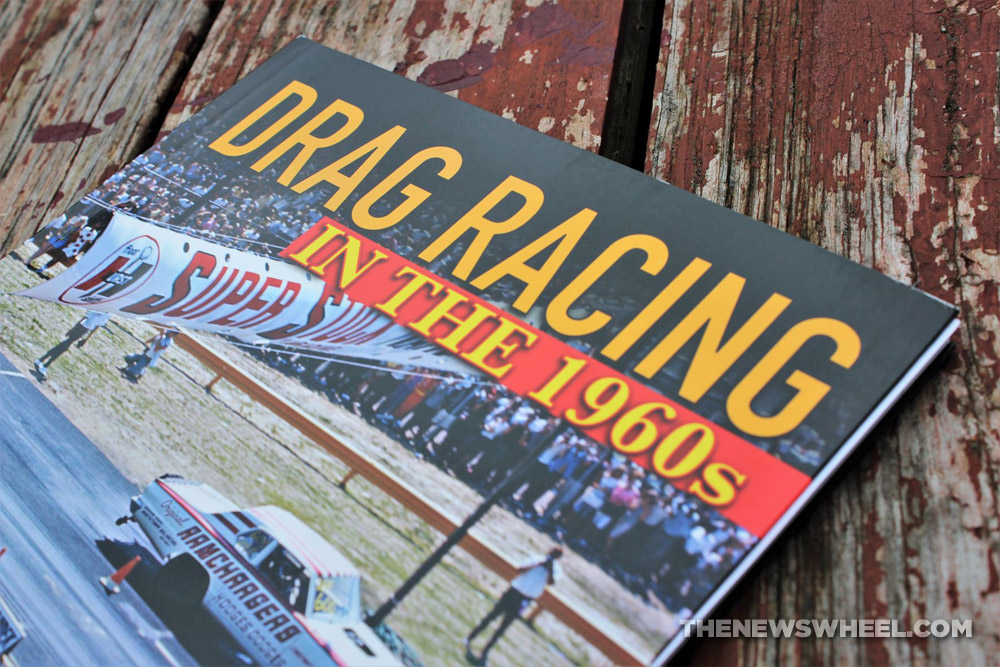 Drag Racing in the 1960s by Doug Boyce book review title on cover