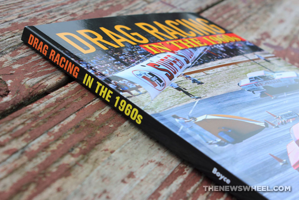 Drag Racing in the 1960s by Doug Boyce book spine