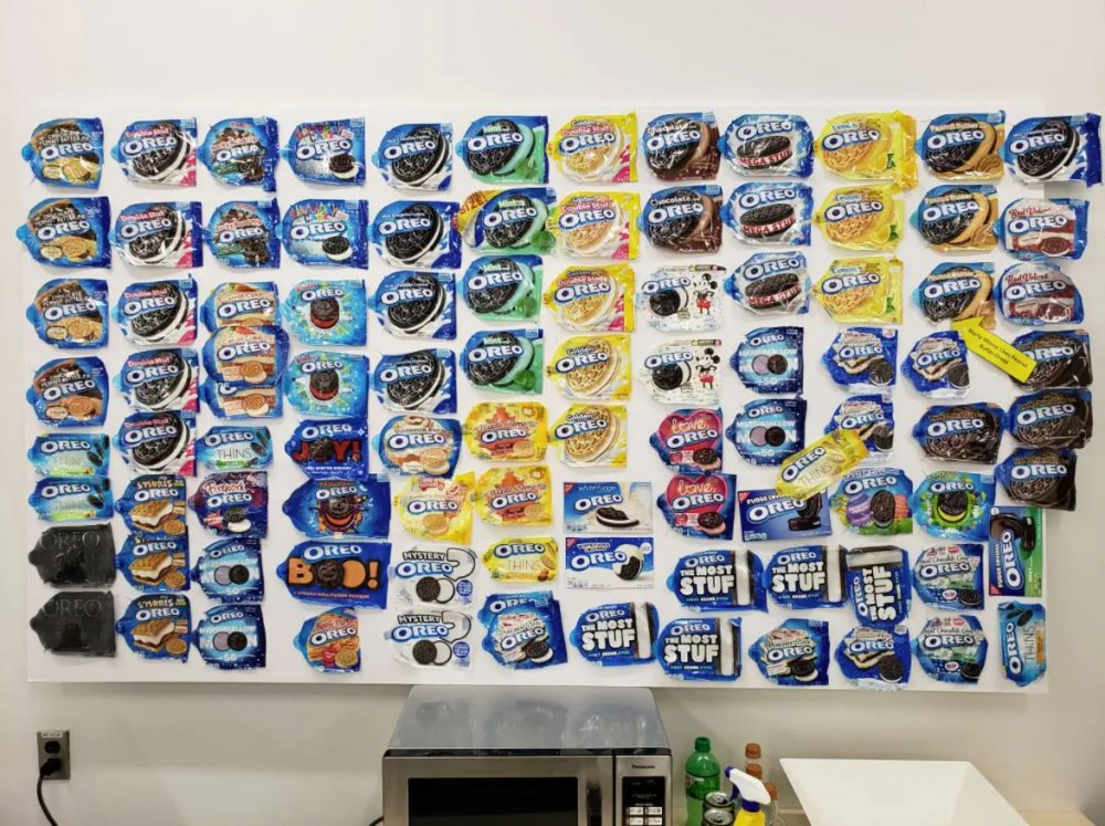 Ford Maverick Team Oreo Wrapper Wall