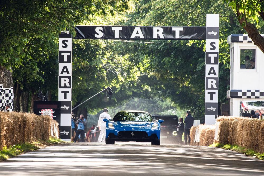 Maserati MC20 at 27th Goodwood Festival of Speed