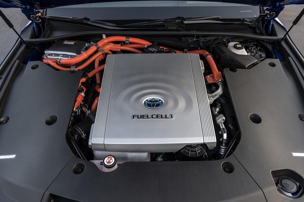 Under the hood of the 2021 Toyota Mirai