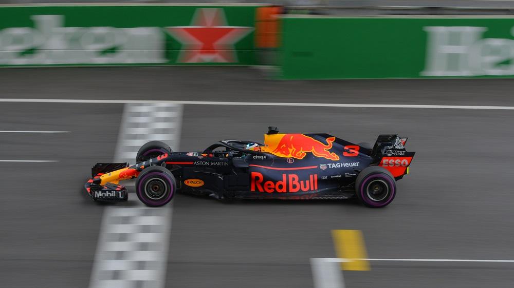 Daniel Ricciardo at Red Bull Racing in 2018