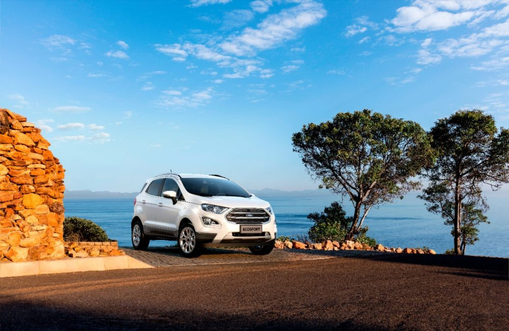 2021 Ford EcoSport by oceanfront