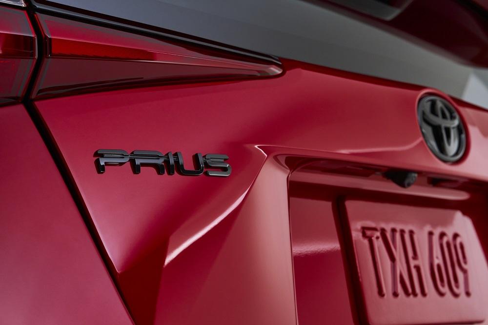 2021 Toyota Prius 2020 Edition badge