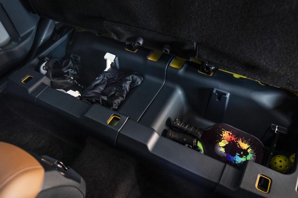 2022 Ford Maverick Under-Seat Storage