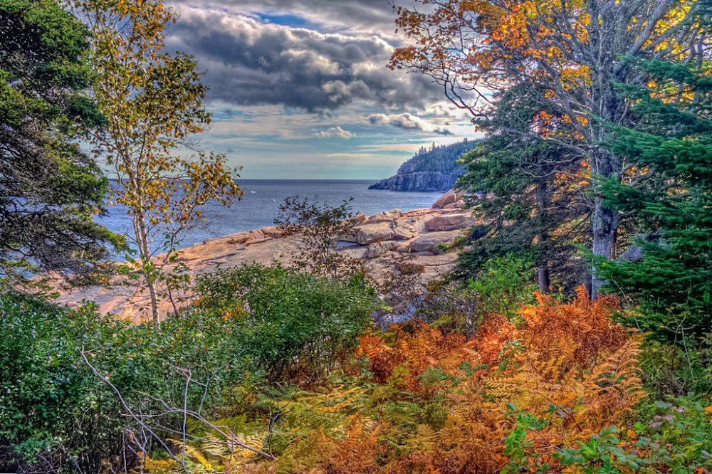 Acadia National Park, near Bar Harbor, Maine, in the fall