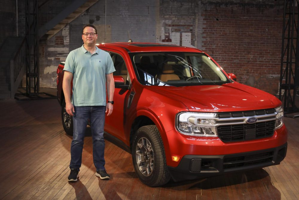 Daniel George with the 2022 Ford Maverick