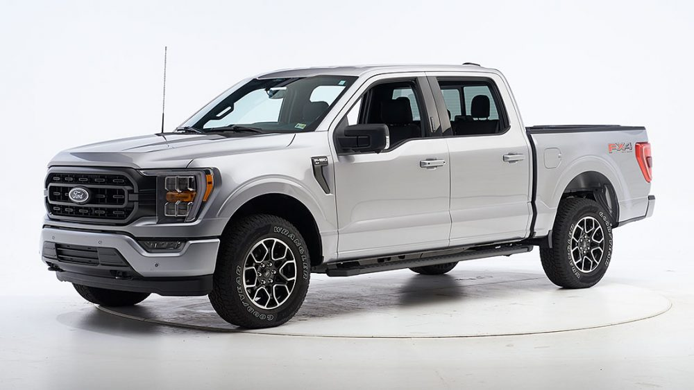 2021 Ford F-150 SuperCrew IIHS Top Safety Pick