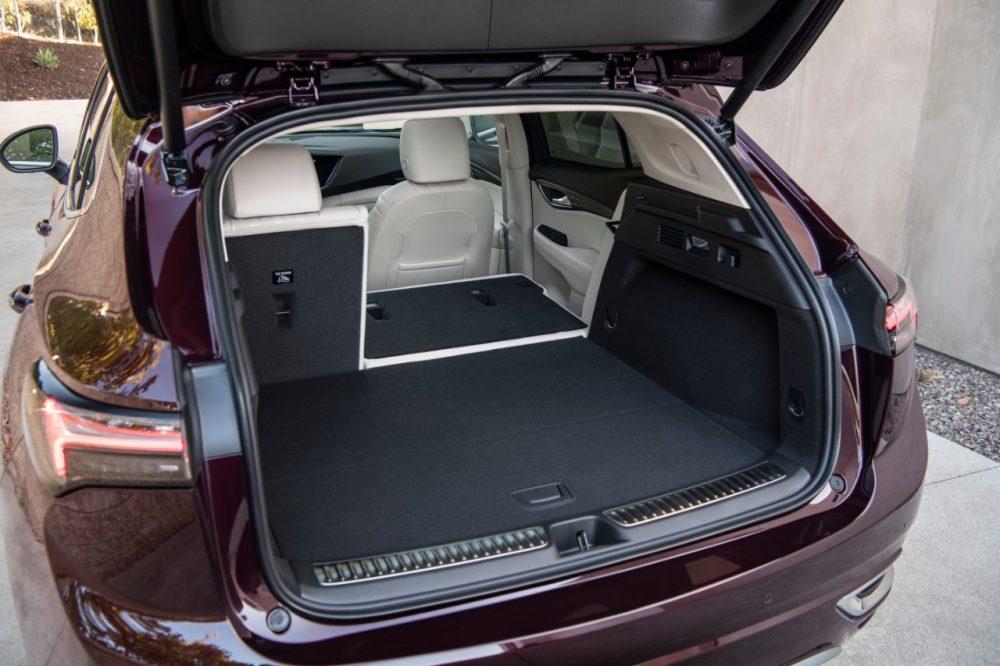 2022 Buick Envision Avenir rear cargo bay