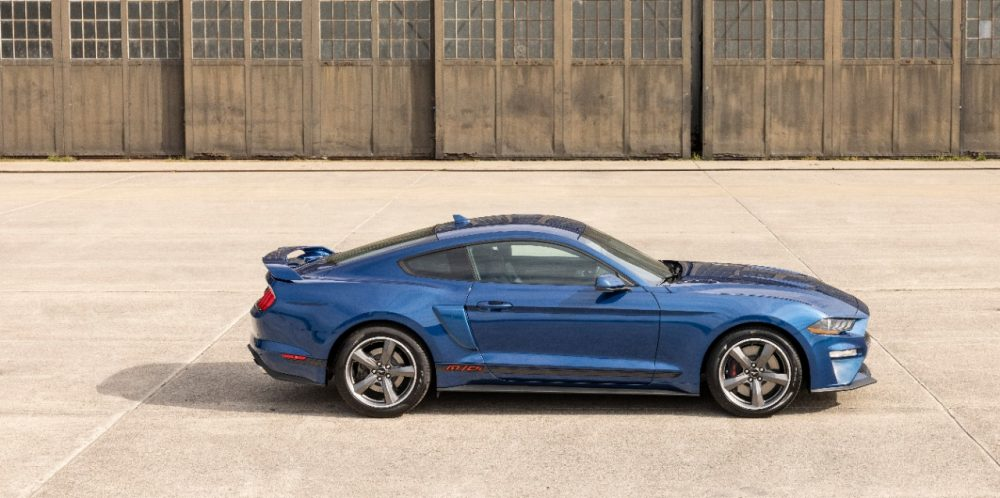 2022 Ford Mustang GT California Special in Atlas Blue