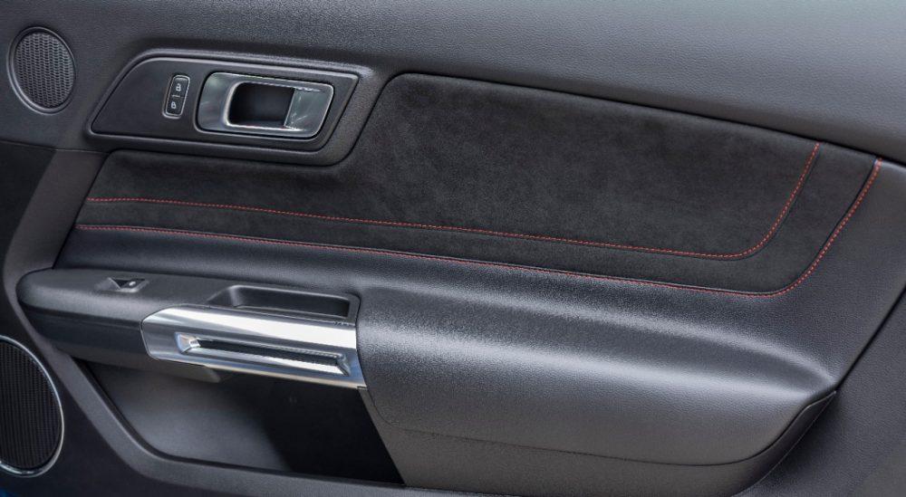 2022 Ford Mustang GT California Special Miko suede door insert