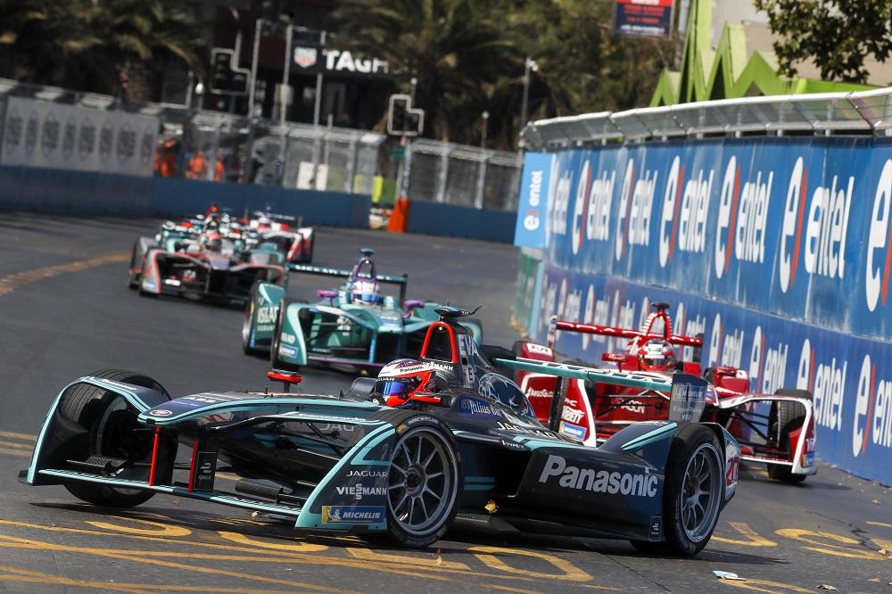 Nelson Piquet Jr at 2018 Santiago E-Prix